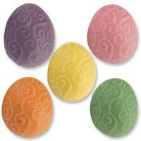 Фигурки марципановые яйца, разноцветные