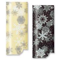 Трафаретный лист-пленка снежинки
