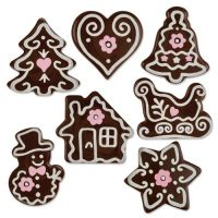 Шоколадный декор Новогодний