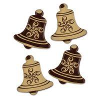 Шоколадный декор Новогодний, колокольчики