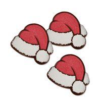 Шоколадный декор Новогодний, шапка Деда Мороза