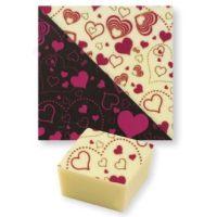 Трафаретный лист-пленка сердечки