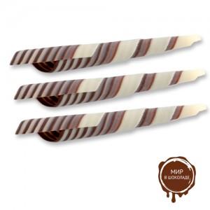 Turitella из темного и белого шоколада