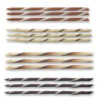 Закрученные трубочки из шоколада 5*100 мм, 108 шт.