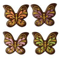 Шоколадный декор бабочки