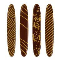 Шоколадный декор с рисунком