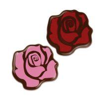 Шоколадный декор бутон розы