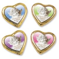 Шоколадное сердце Ангел, 40 шт.