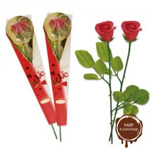 "Фигурки марципановые роза ""Love"", 20 штук"