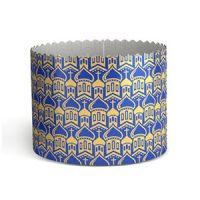 Форма бумажная для кулича PА134/95 золотые КУПОЛА синяя, 1500 шт.