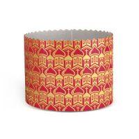 Форма бумажная для кулича PА134/95 зол.КУПОЛА красная, 1500 шт.