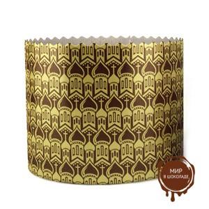 Форма бумажная для кулича PА154/112 золото КУПОЛА, 1000 шт.