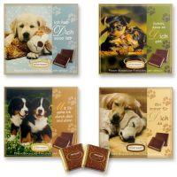"""Подарочный набор """"СОБАЧКИ"""" с плитками шоколада, 16 шт."""