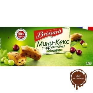 Мини-кекс фруктовый (арбуз, изюм, черешня) 5х30 гр.