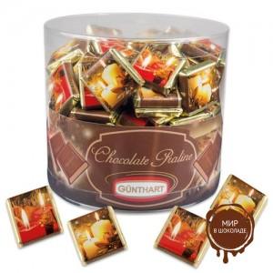 """Шоколадки """"Новогодние свечи"""" с нугой, 270 шт."""
