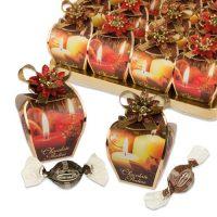 """Подарочная коробка конфет """"Новогодние свечи"""", 16 шт."""