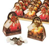"""Сумочка с конфетами """"Новогодние свечи"""", 16 шт."""
