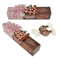 Новогодняя коробочка с конфетами, 12 шт.