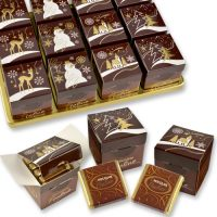 Новогодние кубики с шоколадками, 24 шт.