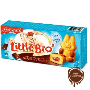 Пирожное Little Bro (Кролик) с шоколадной начинкой