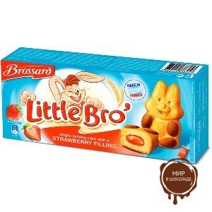 Пирожное Little Bro (Кролик) с клубничной начинкой