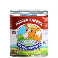 Молоко сгущенное вареное 8,5% ТУ Кореновск, 3,7кг.