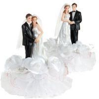 Набор жених и невеста 21см, 2 шт.