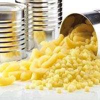 Начинка фруктовая ЯБЛОКО ПИНК кубики 12х12 мм (банка 4.6 кг.)
