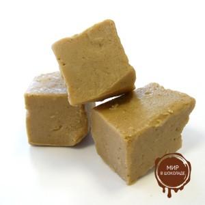Паста сахарно-ореховая ПРАЛИНЕ (НУГА) светлая, пакет 2.5 кг.
