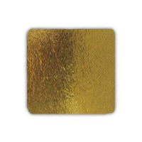 Подложка квадратная 21х21 см. золото, 50 шт.