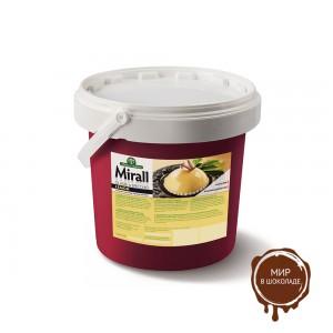 Mirall Limone, зеркальная глазурь со вкусом лимона, для покрытия кондитерских изделий, ведро 5 кг