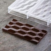 Форма для шоколадных плиток ГЕКСА, короб 1 шт.