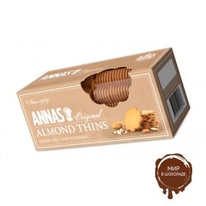"""Печенье ANNAS Original """"Almond Thins"""" тонкое миндальное печенье, 150 гр."""