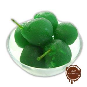 Груша засахаренная целая зелёная АМБРОЗИО, 5 кг.