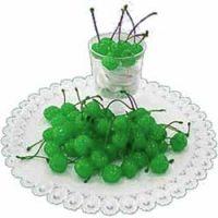 Черешня КОКТЕЙЛЬ с веточкой зелёная, 3 кг.