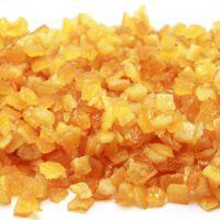 Цукаты. Апельсиновая корочка засахаренные кубики 4х4 мм. Амброзио, 5 кг.