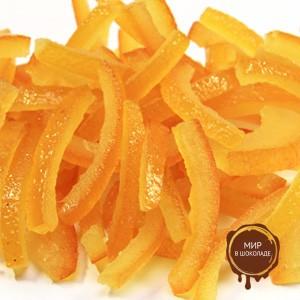 Апельсиновая корочка засахаренные полоски 6х60 мм., 5 кг.