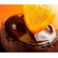 АПЕЛЬСИН трюфельная шоколадная масса с апельсиновым вкусом и ароматом, ведро 6 кг.