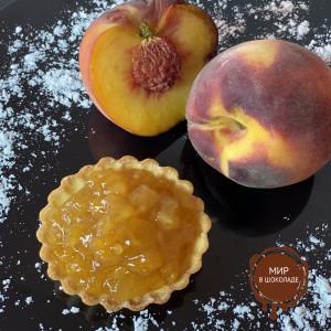 Начинка Альпен Персик с кусочками фруктов 40%, 10 кг.