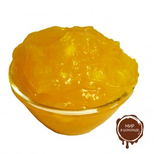 Начинка плодово-ягодная термо с кусочками фруктов Лимон 4.2.6.2, 20 кг.
