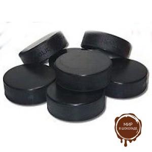 Формочка для конфет Палет Дор/шайба - молочный шоколад 35% 2,1 гр, 630 шт.