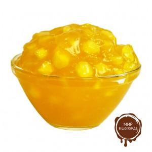 Начинка  термо с крупными кусочками фруктов Груша 4.2.3.3, 20 кг.