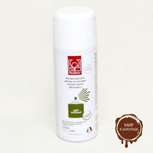 "Спрей MODECOR  ""Вельвет"" на основе какао-масла - зеленый , 400 мл"