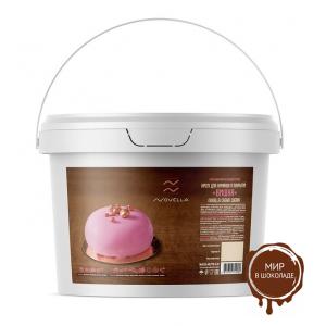 Novella Cream Cherry Крем для начинок и покрытий вишня, 5 кг.