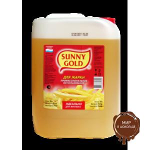 Жир спец назначения для жарки Sunny Gold кулинарный, 5 л