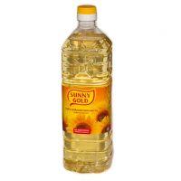 Масло подсолнечное рафинированное дезодорированное Sunny Gold, 5л