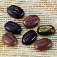 Форма-лист д/декора БЛИСТЕРШОК кофейное зерно,  короб 10 шт.