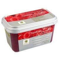 Замороженное пюре Малина в блоке Ravifruit, Франция, 1 кг