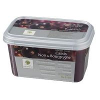Замороженное пюре Черная смородина, в блоке Ravifruit, Франция, 1 кг.
