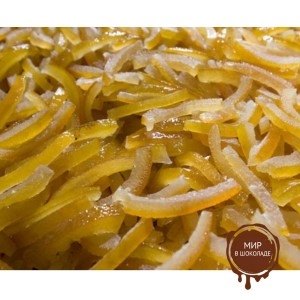 Полоски лимона, калиброванные по размеру Agrimontana(без сиропа фольга), 2,5 кг.